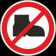 Verboden buitenschoenen te dragen stickers
