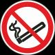 Roken verboden bordjes