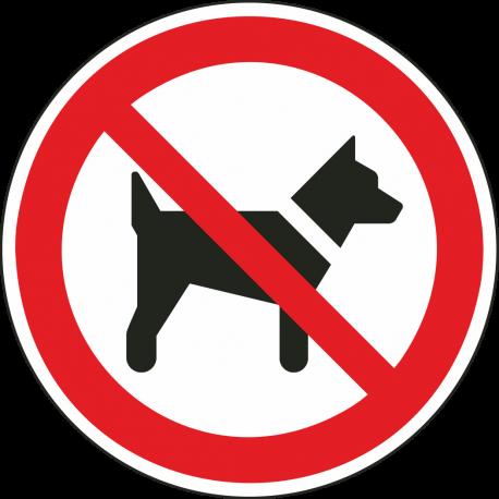 Dieren verboden bordjes