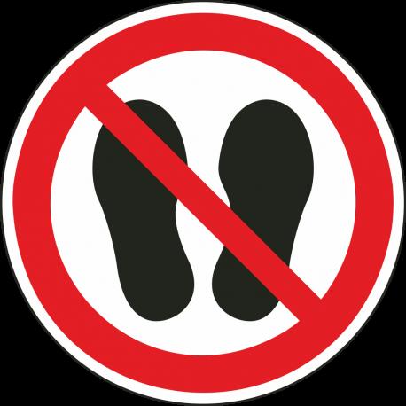 Betreden van ruimte verboden bordjes