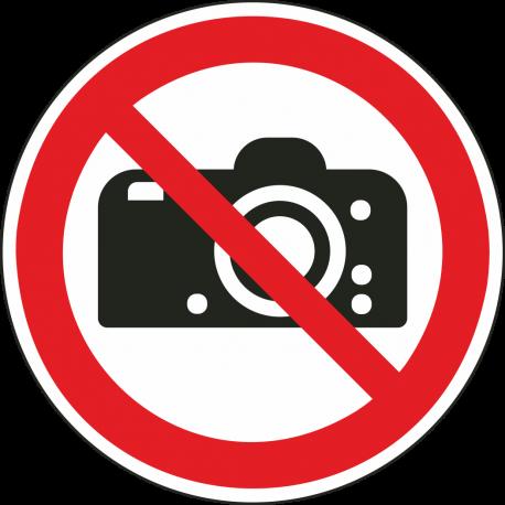Fotograferen verboden bordjes