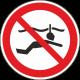 Verboden te snorkelen bordjes