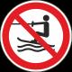 Verboden te slepen bordjes