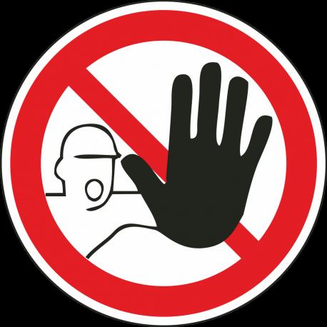 Verboden toegang bordjes