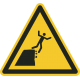 Onstabiele klif(rand) bordjes