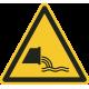Rioolwater monding bordjes