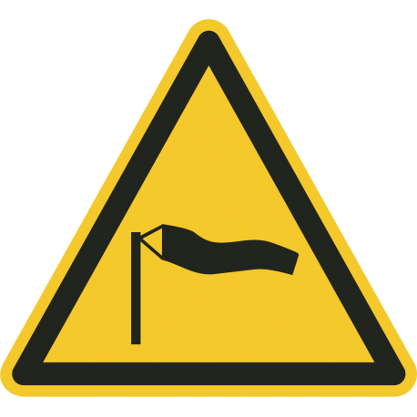 Sterke wind bordjes
