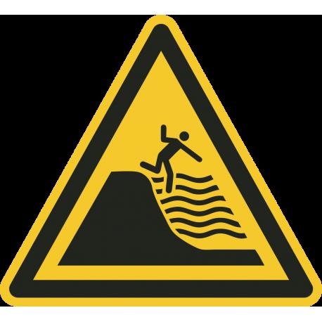 Diep water strand bordjes