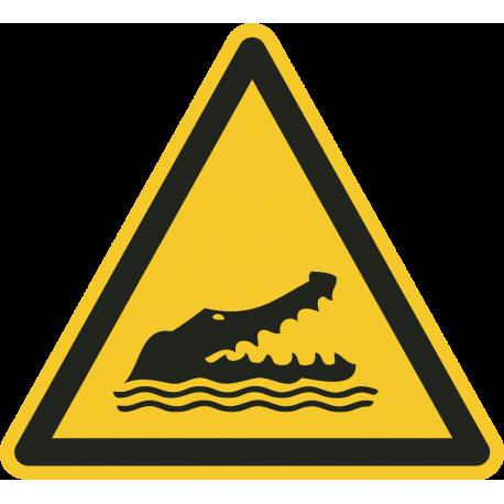 Krokodillen bordjes