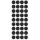Markeringsstickers rond 20 mm op vel (36 stuks)