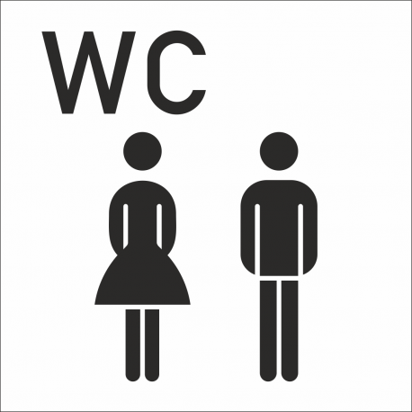 Gezamenlijke wc stickers (met achtergrond)
