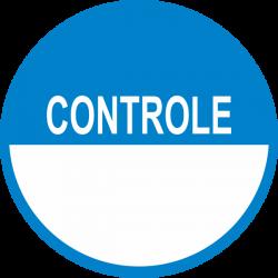 Controle keuringsstickers beschrijfbaar