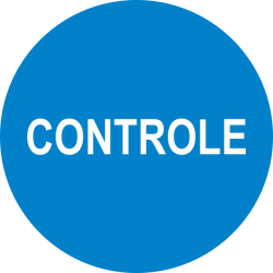 Controle keuringsstickers