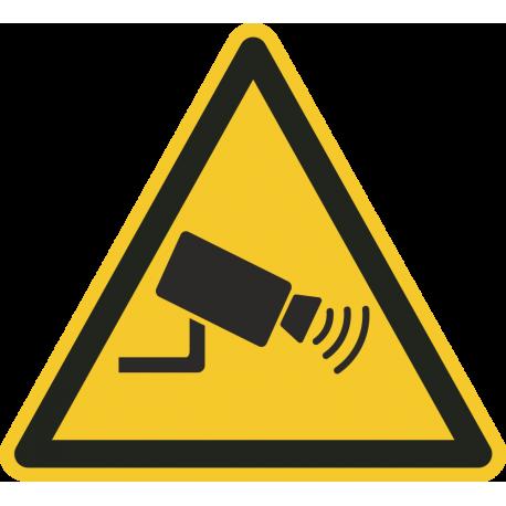 Camera bewaking stickers