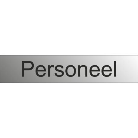 Personeel bewegwijzeringsborden