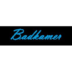 "Interieurstickers ""Badkamer"""