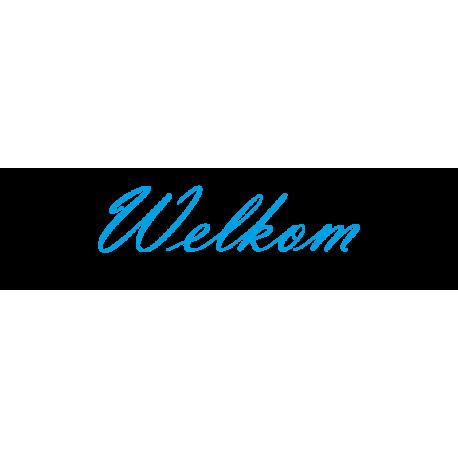 Interieurstickers 'Welkom'