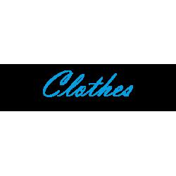 "Interieurstickers ""Clothes"""