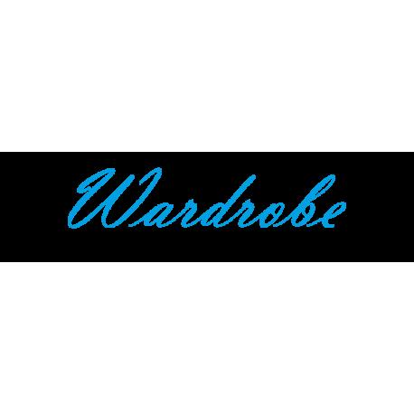 """Interieurstickers """"Wardrobe"""""""