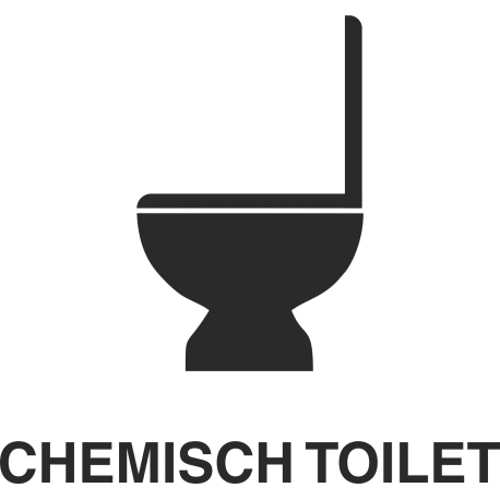 Chemisch toilet stickers (zonder achtergrond)