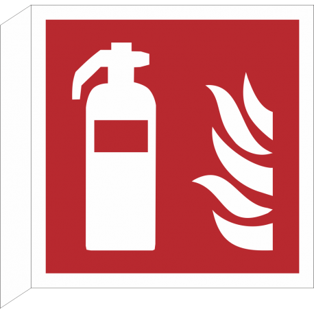 Brandblusser/blusapparaat bordjes (haaks model)