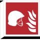 Brandbestrijdingsmiddelen bordjes (haaks model)