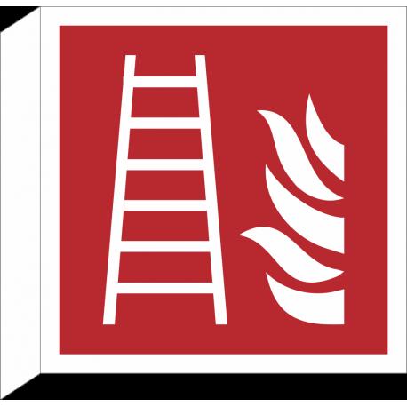 Brandladder bordjes (haaks model)