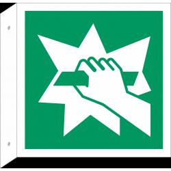 Breken om toegang te krijgen bordjes (haaks model)