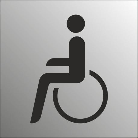 Invalide bordjes (RVS Look)