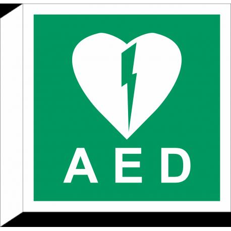 AED bordjes (haaks model)