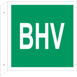 BHV bordjes (haaks model)