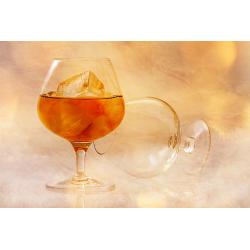 Brandy alcohol - Foto op plexiglas