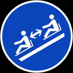 Afstand houden stickers