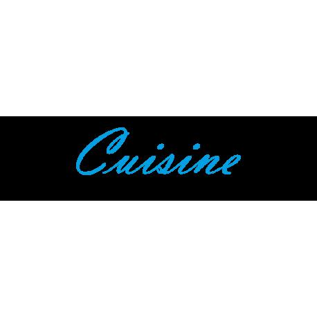 "Interieurstickers ""Cuisine"""