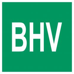 Bedrijfshulpverlening (BHV) bordjes