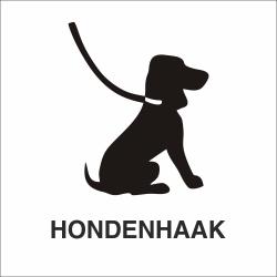 Hondenhaak stickers (met achtergrond)
