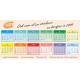 Kalenderstickers met eigen opmaak (horizontaal model)