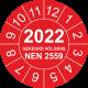 Keuringsstickers met NEN 2559 en jaartal (rood)