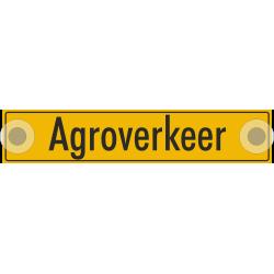 Agroverkeer bordjes