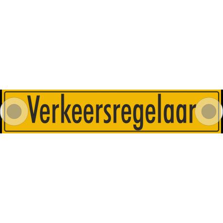 Verkeersregelaar bordjes