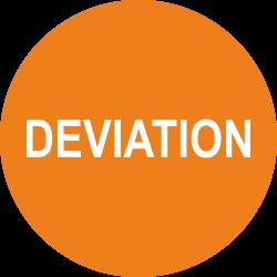 Deviation keuringsstickers