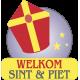 Sinterklaas raamsticker
