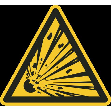 Explosieve stoffen stickers