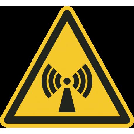 Niet-ioniserende straling stickers