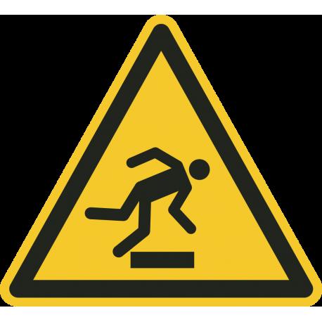 Struikelgevaar stickers