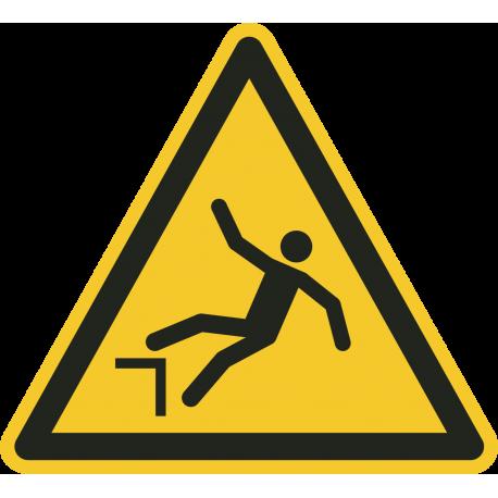 Vallen door hoogteverschil stickers
