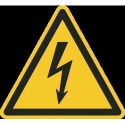 Gevaarlijke elektrische spanning stickers