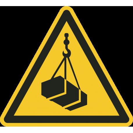 Hangende last stickers
