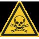 Giftige stoffen stickers