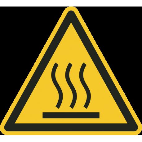 Warm oppervlak stickers